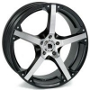 Targa Llanta Advanced 7,5  x 18  mod.T606 Black Polish.