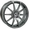 Targa Llanta Racing 7 x 17  mod.T012 Grey Metal.