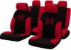 Bottari funda asiento tribal negro/rojo