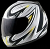 Casco Red Zed serie 401 Gris brillante