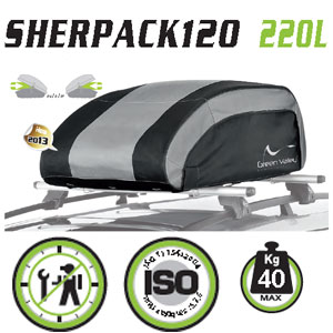 Cofre techo plegable Green Valley Sherpack120