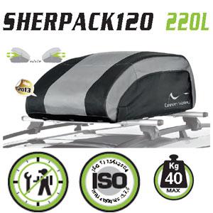 Cofre techo plegable Green Valley Sherpack120