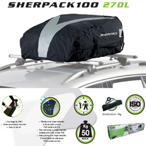 Cofre techo plegable Green Valley Sherpack100