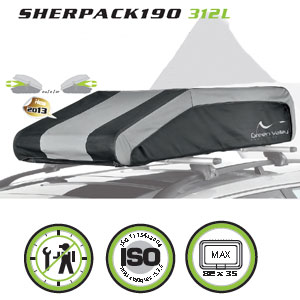 Cofre techo plegable Green Valley Sherpack190