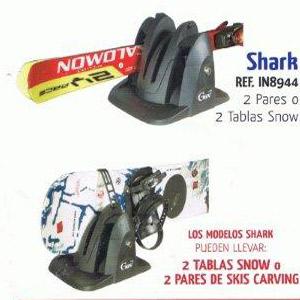 Porta esquies imantado Shark