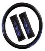Bottari cubrevolante y cinturones Fire azul