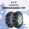 Cadenas nieve 4 x 4 mod.390