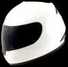 Casco Red Zed serie 400 blanco brillante