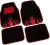 Bottari alfombra moqueta infernal rojo