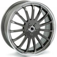 Targa Llanta Racing 6,5  x 15  mod.T560 Grey Polish.